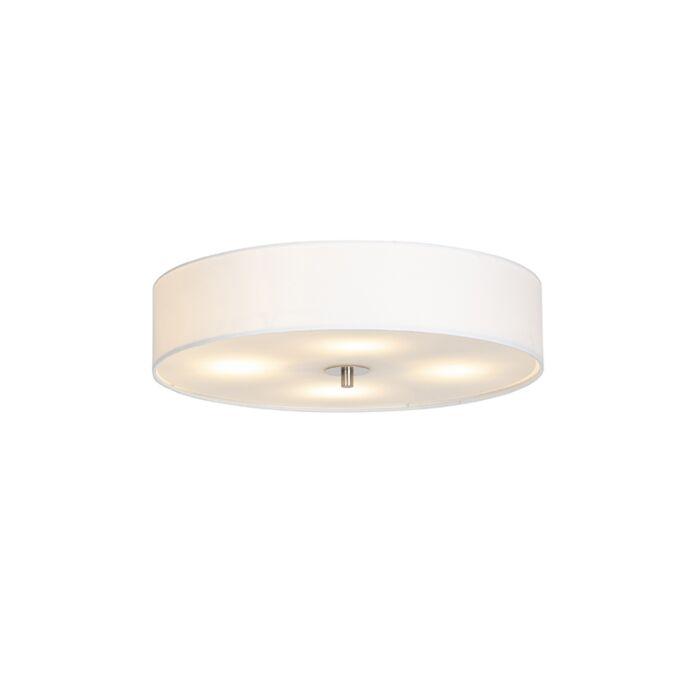 Country-loftlampe-hvid-50-cm---Tromme