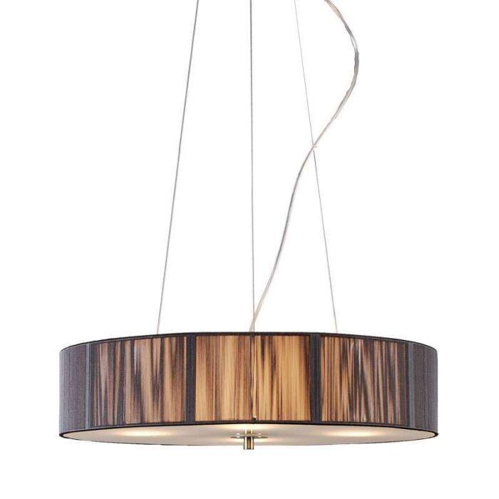 Hængelampe-Rope-rund-50-antracit