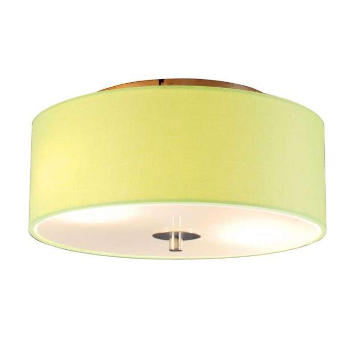 Loftlampe-Drum-30-rund-kalk