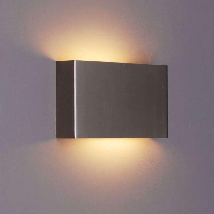 Væglampe-Otan-stål