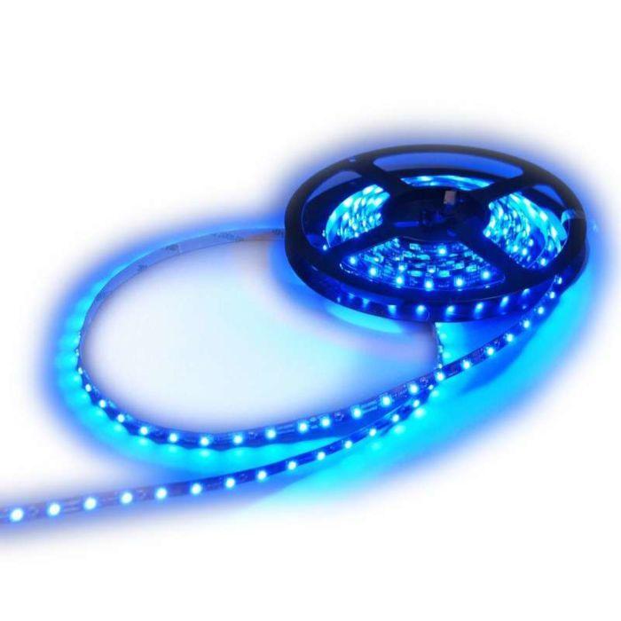 LED-Flex-strip-blå-5-meter-komplet