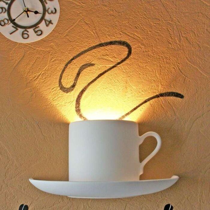 Væglampe-Gipsy-Coffee