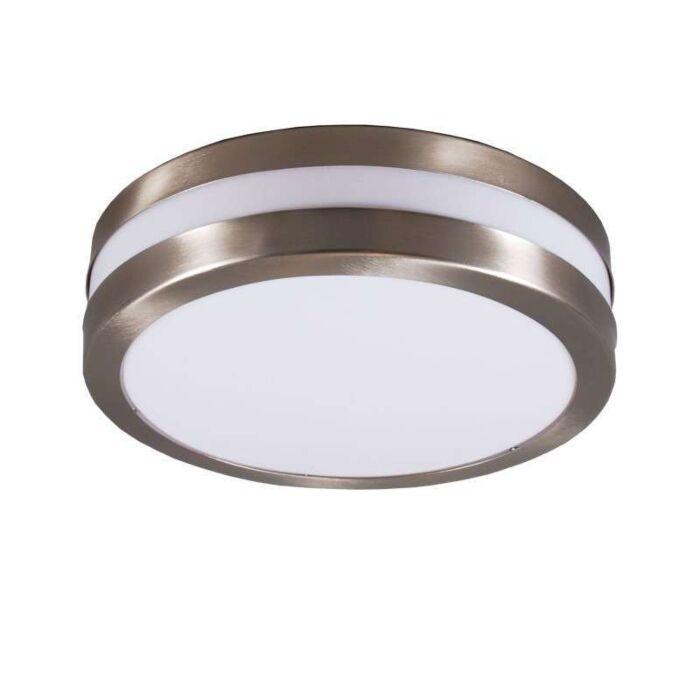 Væg--og-loftslampe-rustfrit-stål-IP44---Leeds