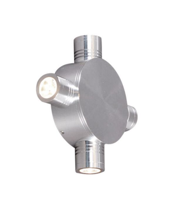Væglampe-Star-LED-4-aluminium