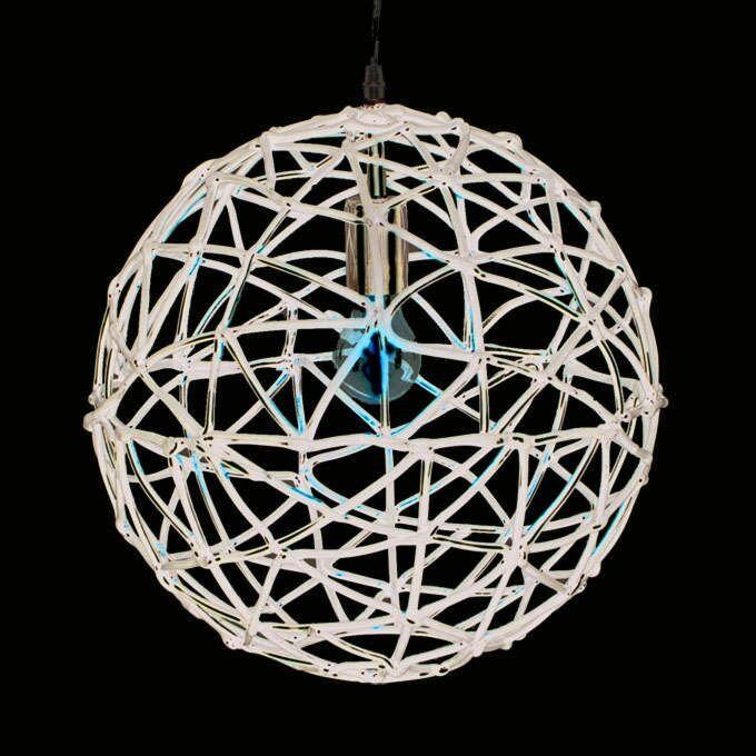Hængelampe-Birdy-40-sort