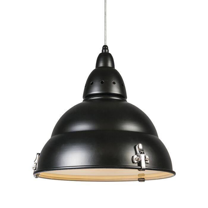 Hængelampe-Fabriks-sort