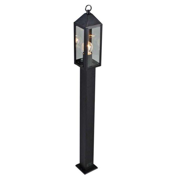 Udendørslampe-Bussum-P100-sort