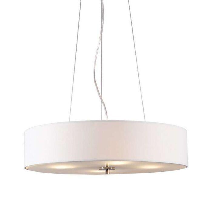 Hængelampe-Drum-50-kort-cremehvid