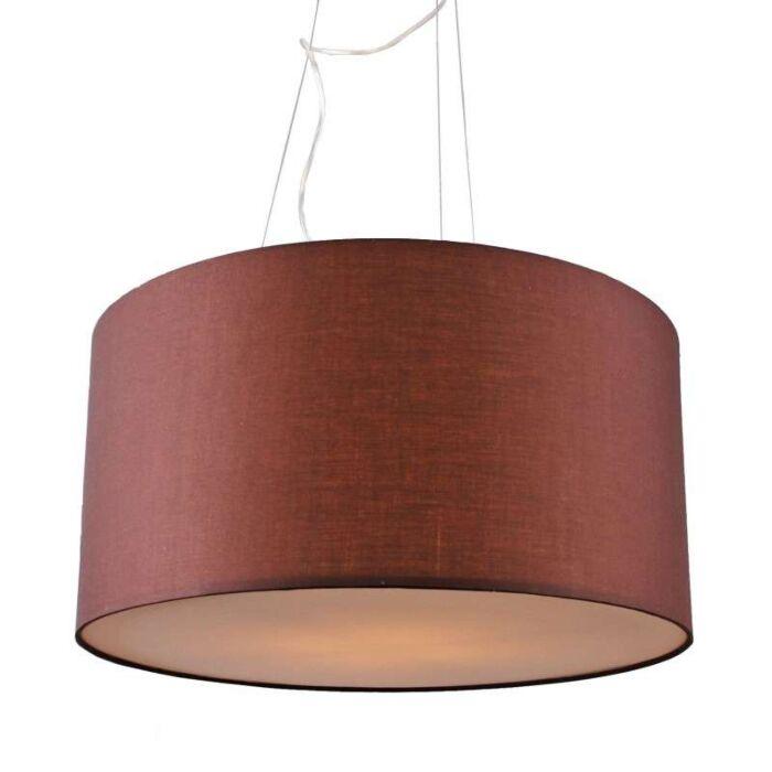 Hængelampe-Tromme-60-brun