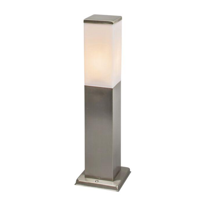 Moderne-udendørs-lampe-45-cm-stål---Malios