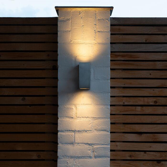 Moderne-væglampe-aluminium-IP44---Baleno-II