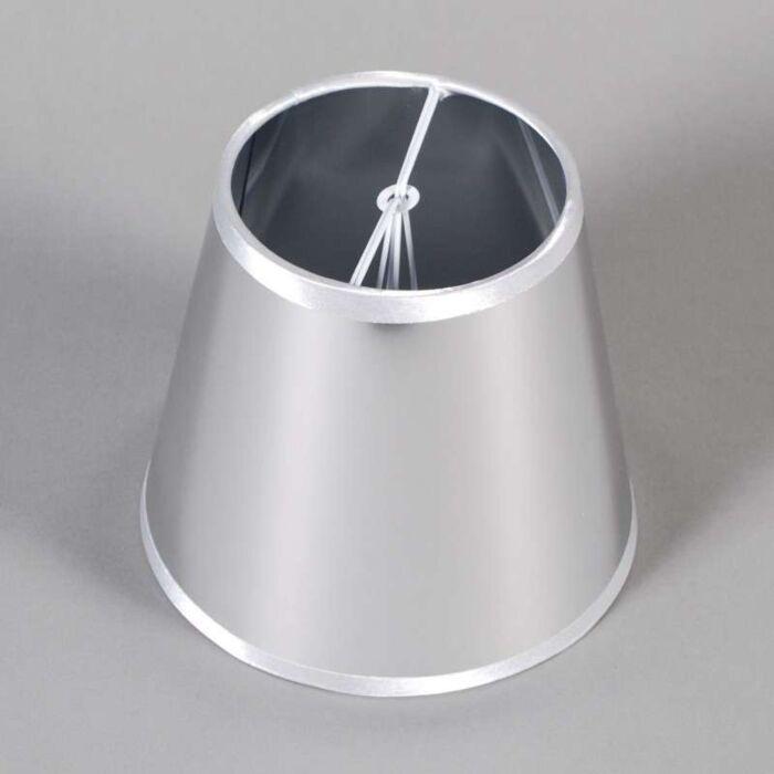 Spændehætte-ø15cm-magisk-sølv
