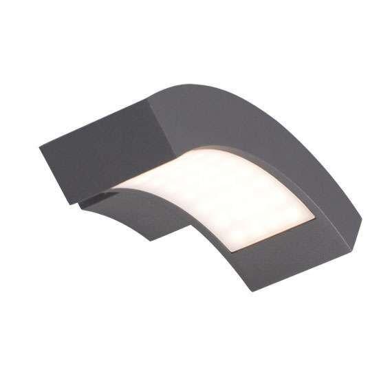Udendørslampe-Sverige-LED-væggrafit