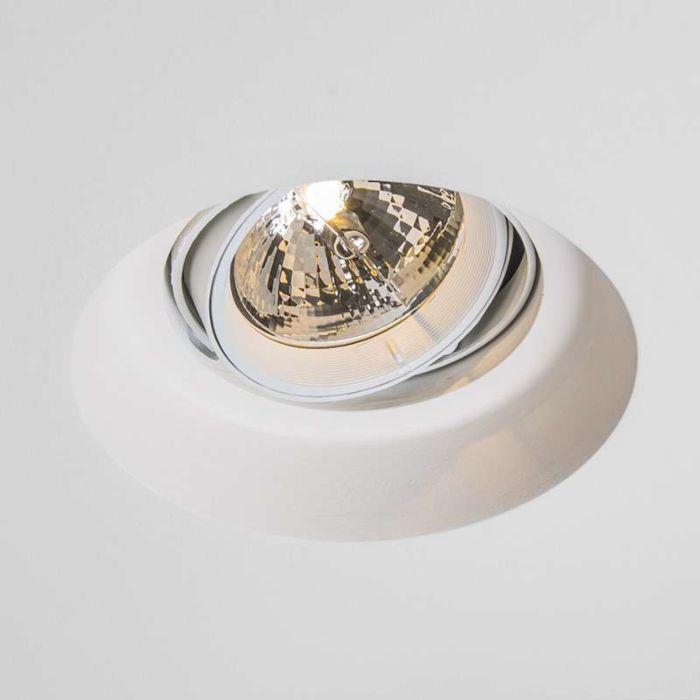 Forsænket-spot-Gipsy-Zero-round-I-G53-AR111