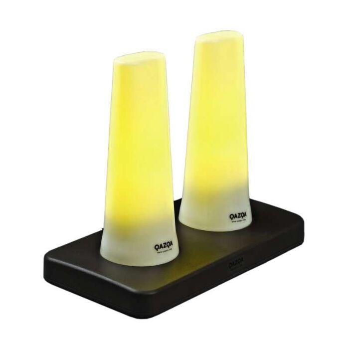 Sæt-med-to-genopladelige-LED-lamper-RØR