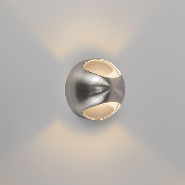 Væglampe-OJO-stål