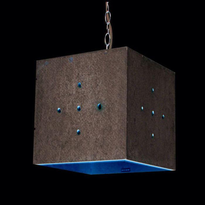 Hængelampe-Beton