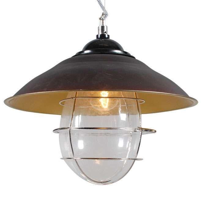 Hængende-lampe-Skipper-antik