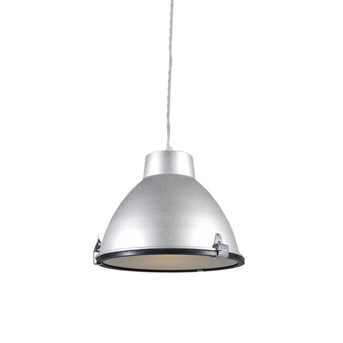 Hængelampe-Anteros-aluminium-Lille