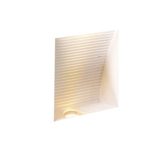 Væglampe-Nul-firkantet-LED-forsænket