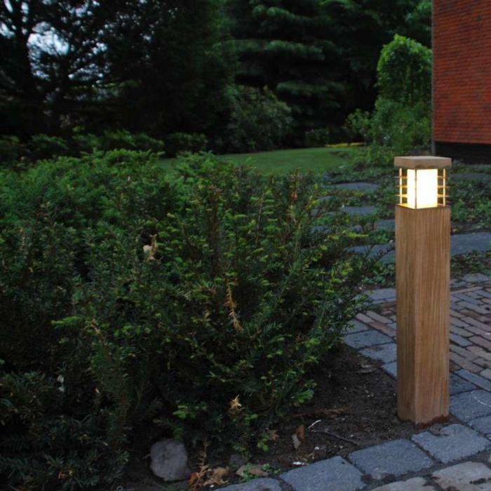 Udendørs-lampe-Colin-Square-Teak