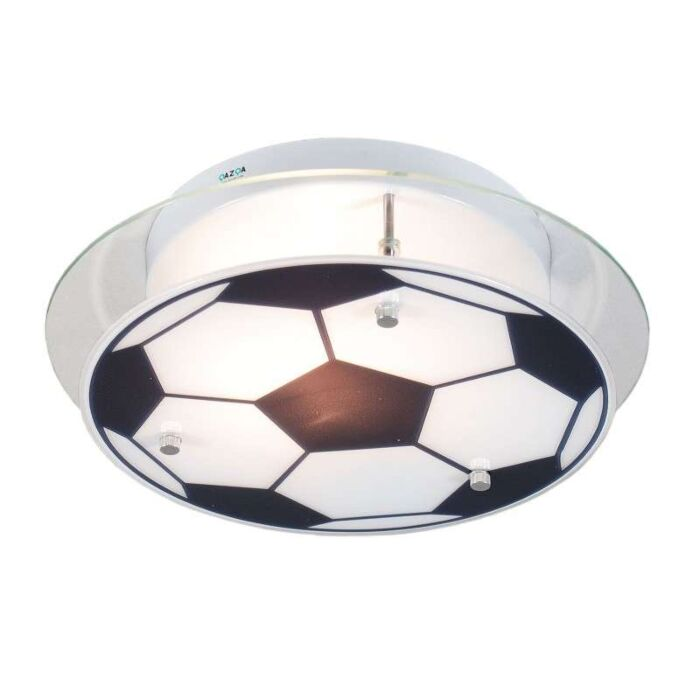 Loftlampe-Børnefodbold