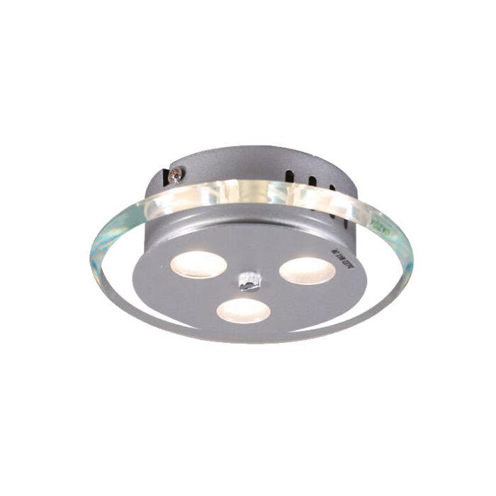 Loftlampe-Credo-rund-19-LED-klar