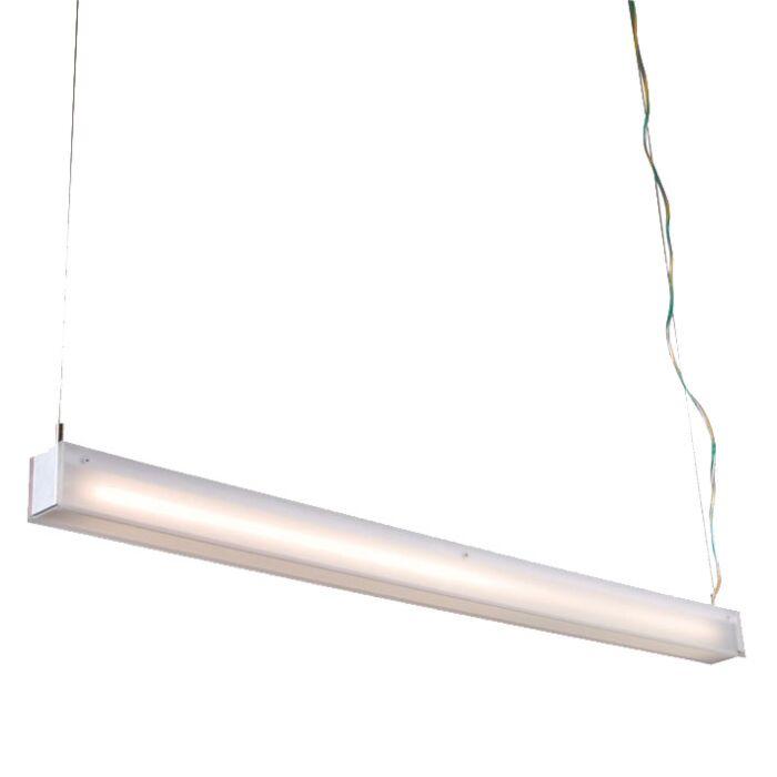 Hængelampe-Tube-R-hvid-28W