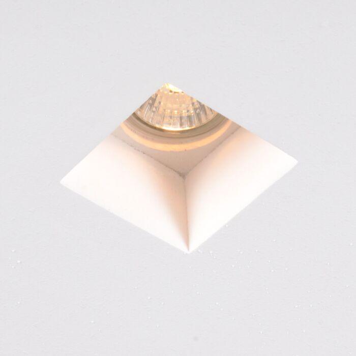 Moderne-indbygget-spot-mini-firkant---Gipsy-Zero