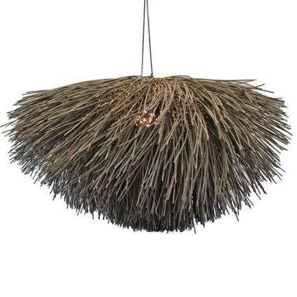 Hængelampe-Yala-Grande-brun