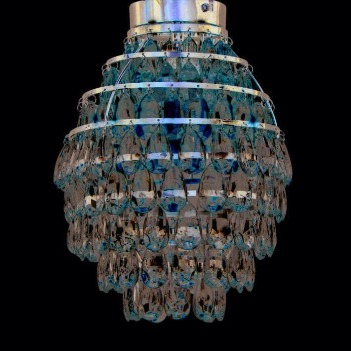 Loftlampe-Pinecone-krom