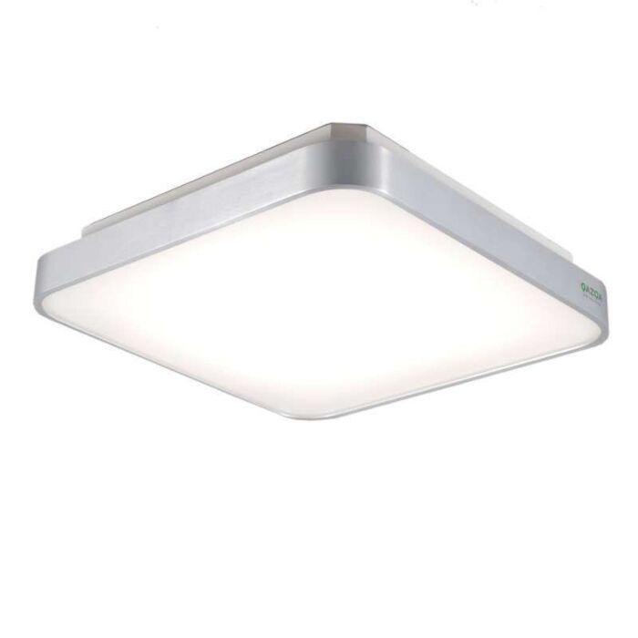 Loftlampe-Screen-Square-40-aluminium