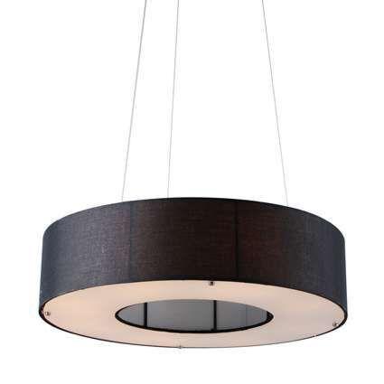 Hængelampe-Drum-Open-60cm-sort