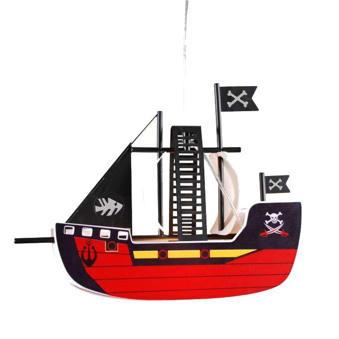 Hængelampe-Piratskib-til-børn