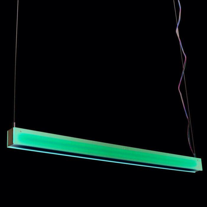 Hængelampe-Tube-R-rød-28W