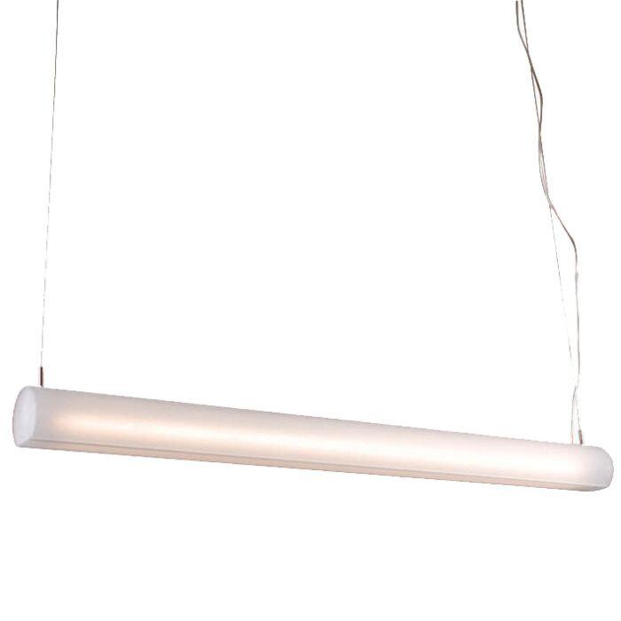 Hængelampe-rørformet-hvid-28W