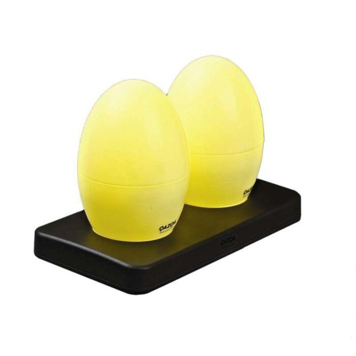Sæt-med-to-genopladelige-LED-lamper-EGG