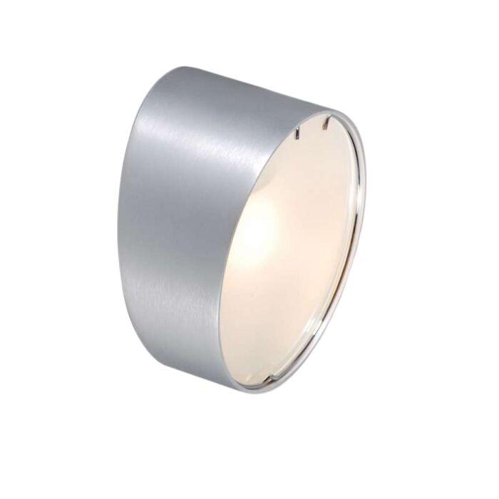 Væglampe-Telefon-rund-aluminium