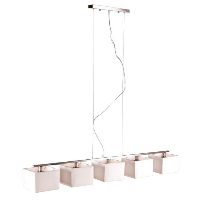 Hængelampe-VT-5-hvid