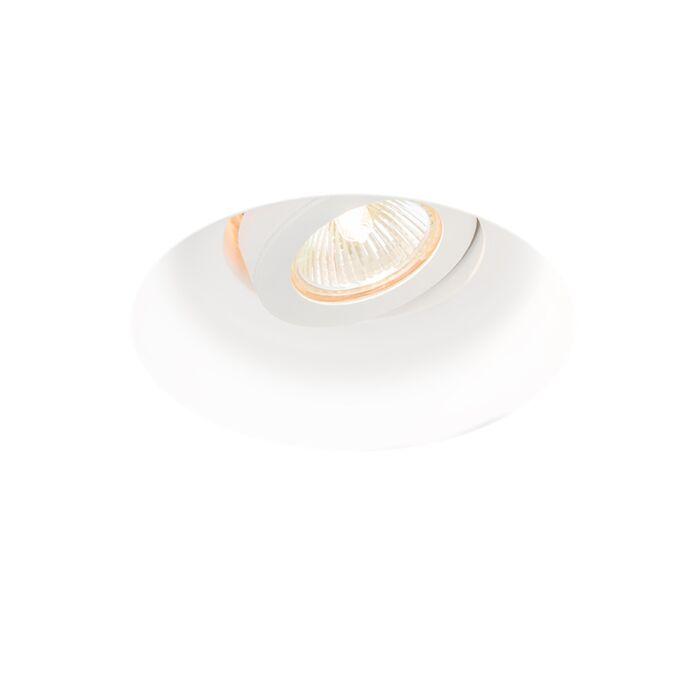 Moderne-forsænket-spot-rundt-vipbar---Gipsy-Zero-I.