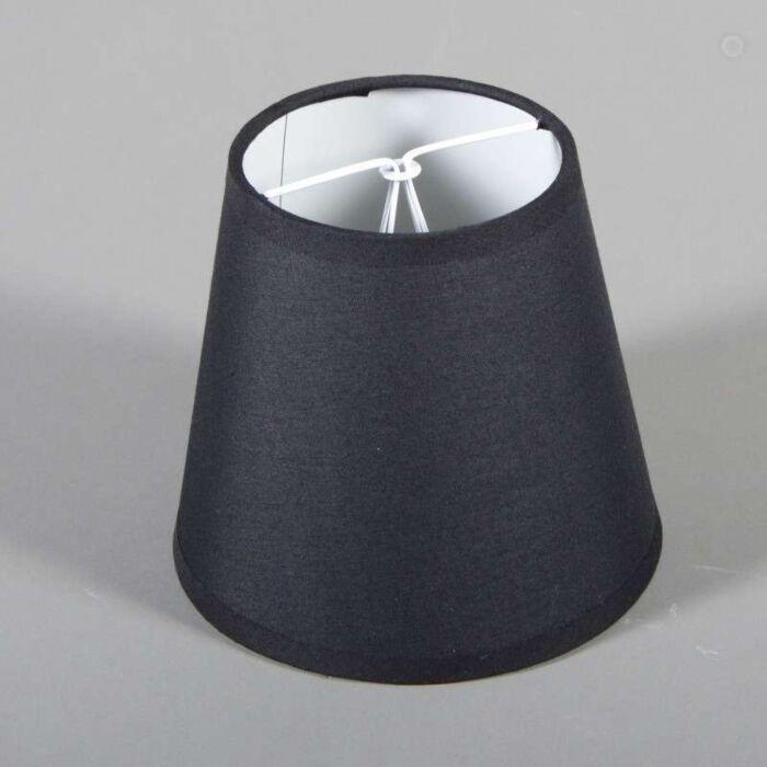 Spændehætte-ø15cm-sort