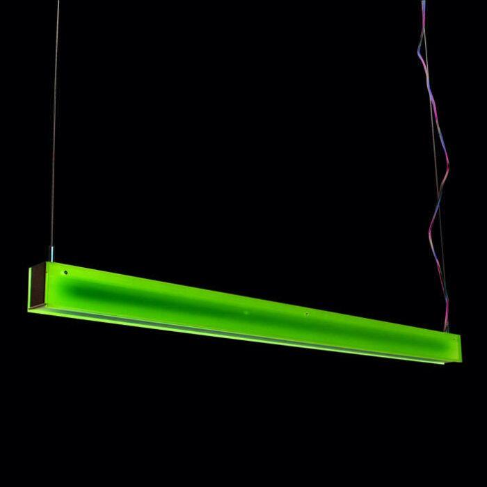 Hængelampe-Tube-R-lilla-28W