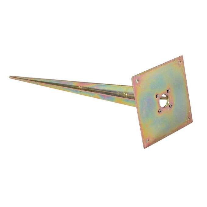 Varmgalvaniseret-firkantet-jordspids