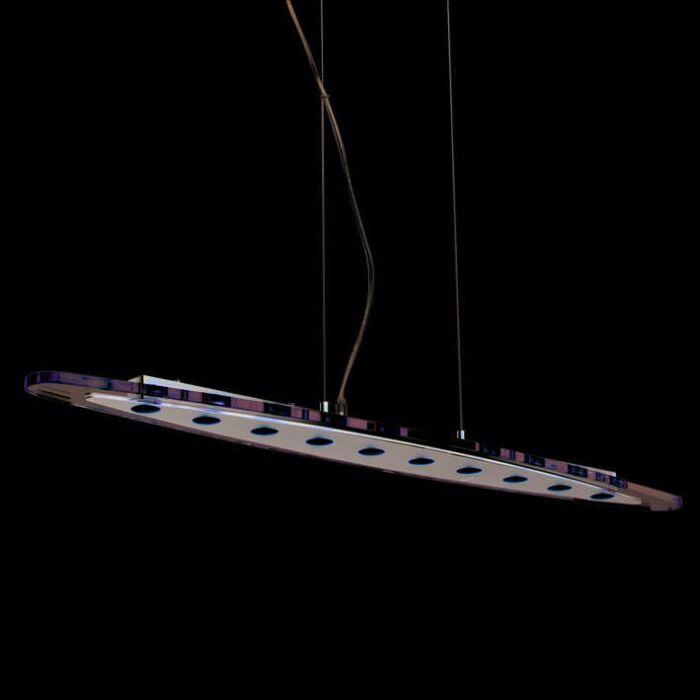 Hængelampe-Credo-oval-100-LED-klar