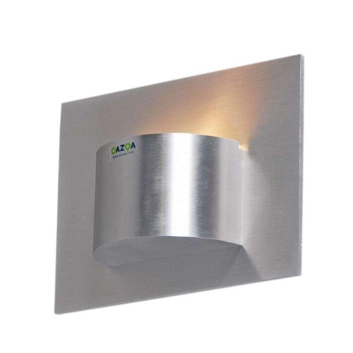 Væglampe-Oko-1-aluminium