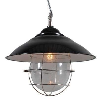 Hængende-lampe-Skipper-sort