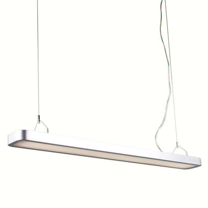 Hængelampe-Tube-U-2-x-28W-sølv