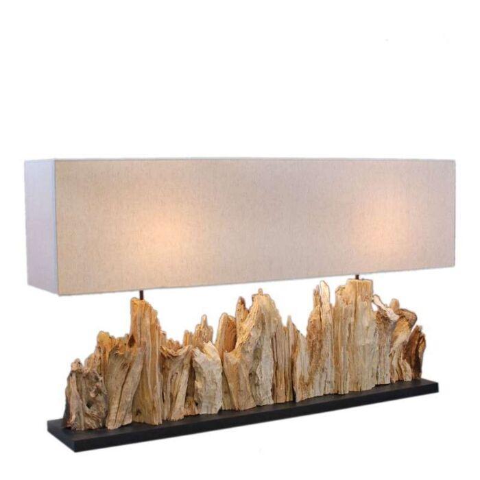 Bordlampe-Thak-Extra-Grande-(115-cm-!!)-med-linnedskærm