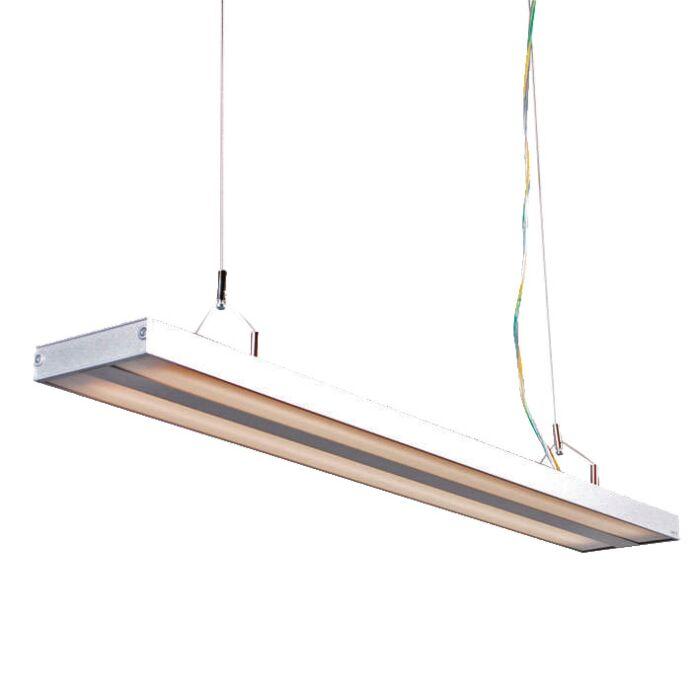 Hængelampe-Tube-S-sølv-2-x-21W