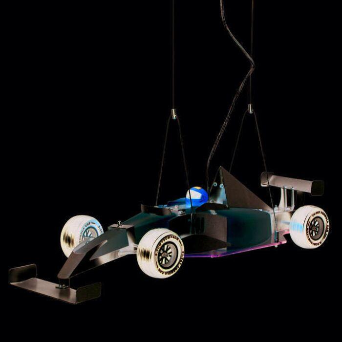 Hængelampe-Børn-Formel-1-bil